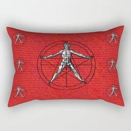 Symbols of the Occult, Alchemy, Freemasonry Rectangular Pillow
