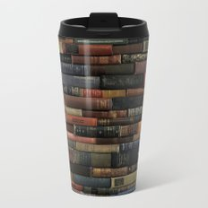 Books on Books Travel Mug