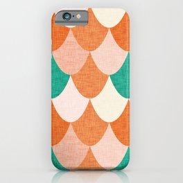 Snake Orange iPhone Case