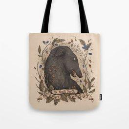 Beware, the Black Shuck Tote Bag