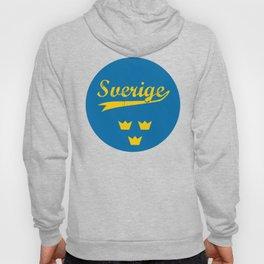 Sweden, Sverige, circle Hoody