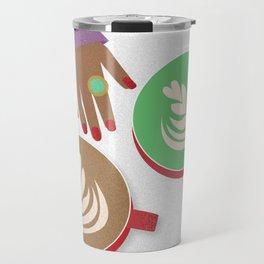 Latte Conversations Travel Mug