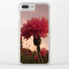 Wildflower Sunsets #1 Clear iPhone Case