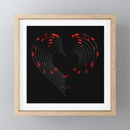 Light My Fire Framed Mini Art Print
