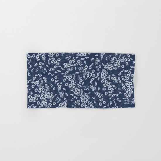 Daisy Dream Navy Hand & Bath Towel