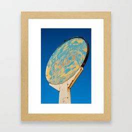 Roswell, NM. Framed Art Print