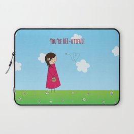 You're Bee-utiful! Laptop Sleeve