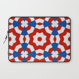 american style kaleidoscope background Laptop Sleeve