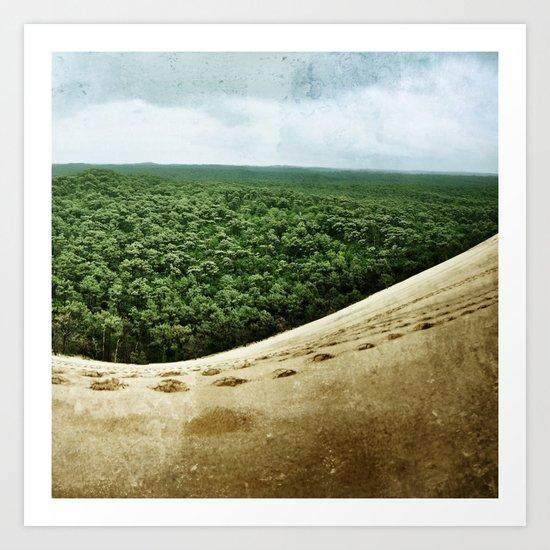 Beyond the Sand Dune Art Print
