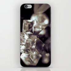 crystal structure iPhone & iPod Skin