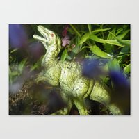 jurassic park Canvas Prints featuring Jurassic Park by rosscaughersphotography