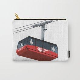 Jackson Hole Cable Car Carry-All Pouch