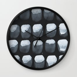 Black Oysters  Wall Clock