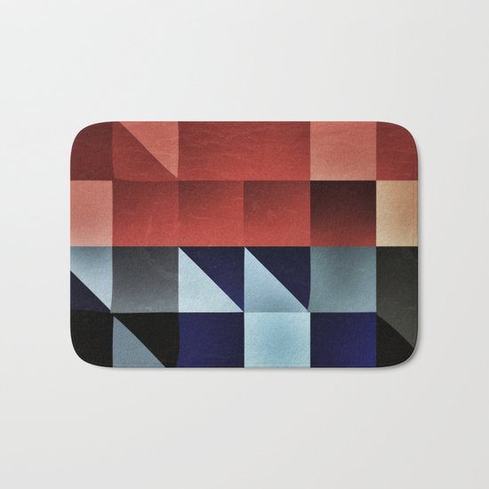 :: geometric maze IX :: Bath Mat