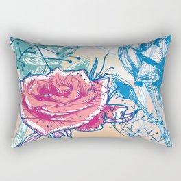 Blossoming rose Rectangular Pillow