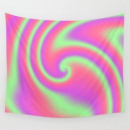 Tutti Frutti Ribbon Candy Fractal Wall Tapestry