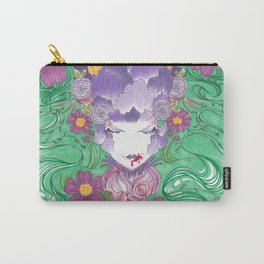 The Face Art 20/Cherry Biter Carry-All Pouch