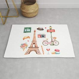 Welcome To Paris Rug
