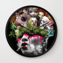 Doll House Wall Clock