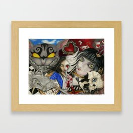 Alice the madness returns Framed Art Print