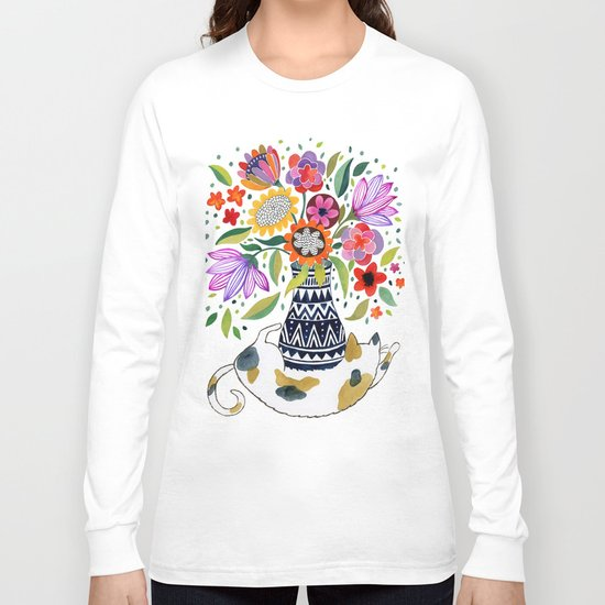 Calico Bouquet Long Sleeve T-shirt