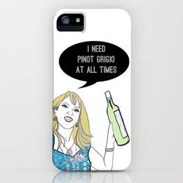 Pinot Grigio iPhone Case