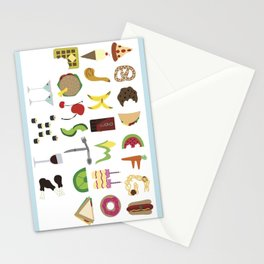 Eat Your ABCs Stationery Cards