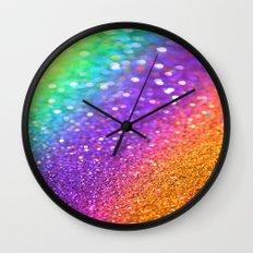 Partytime Rainbow Wall Clock