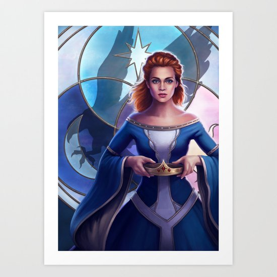 The Crown of the Queen Art Print