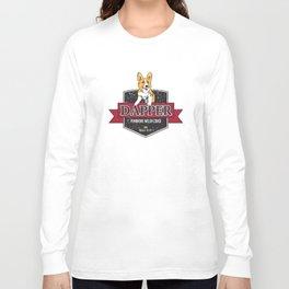 Dapper in Color Grunge Long Sleeve T-shirt
