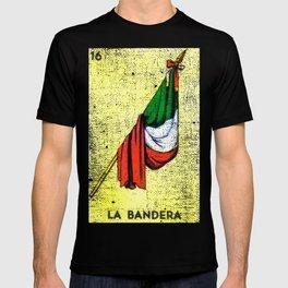 La Bandera Mexican Loteria Card T-shirt