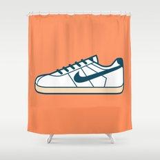 #55 Nike Cortez Shower Curtain