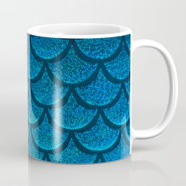 Cerulean Coal Scales Coffee Mug