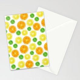 Citrus medley! Oranges, lemons, and limes.  Stationery Cards