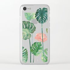 TROPICAL CREATION Clear iPhone Case