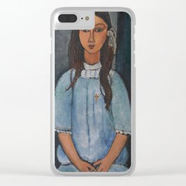 Amedeo Modigliani - Alice Clear iPhone Case