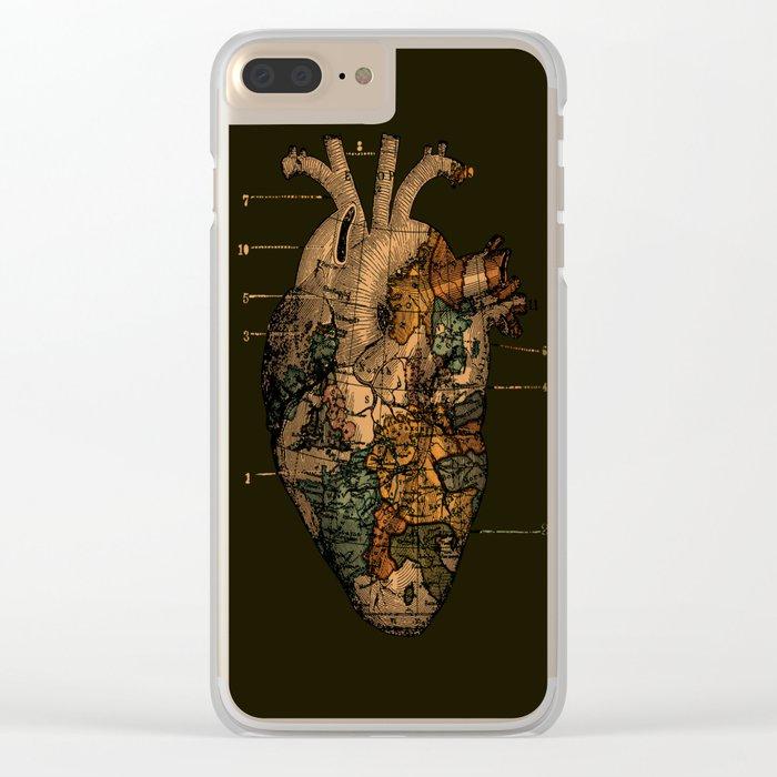I'll Find You (Dark Brown) Clear iPhone Case