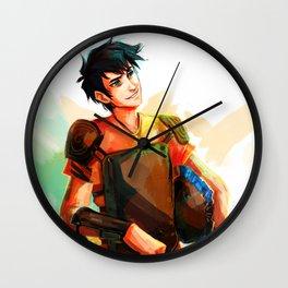 son of poseidon  Wall Clock
