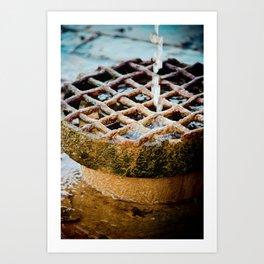 drainage Art Print