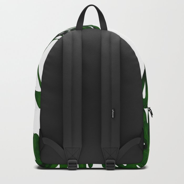 Simply Tropical Palm Leaves in Jungle Green Backpack