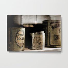 COCOA (4) Metal Print