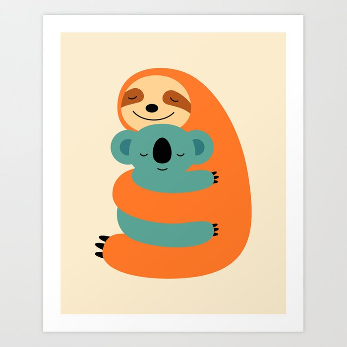 Discover the motif STICK TOGETHER by Andy Westface as a print at TOPPOSTER