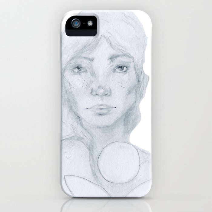 Lined Beauty iPhone Case