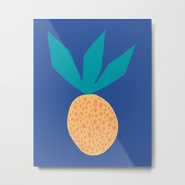 Abstract Fruit Metal Print