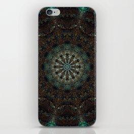 Tree mandala xiv iPhone Skin