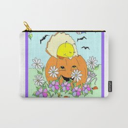 """ Punkin' Hugs "" Carry-All Pouch"