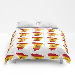Flag of spain 3-spain,espana, spanish,plus ultra,espanol,Castellano,Madrid,Barcelona Comforters