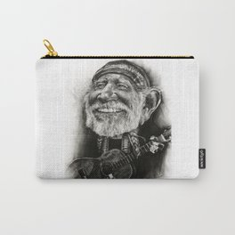 Willie Nelson Caricature Carry-All Pouch