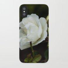 white rose Slim Case iPhone X
