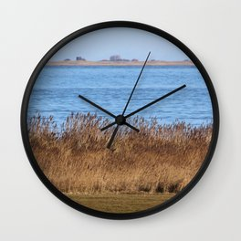 At the beach 7 Wall Clock